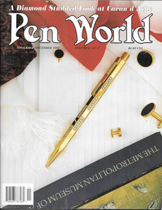 Pen World, Back Issues; Nov./Dec. 1992 Volume 6, No.2