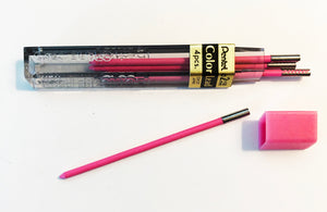 Vintage Lead, Pentel Colours, 2mm x 58mm, Pink