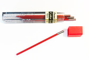 Vintage Lead, Pentel Colours, 2mm x 58mm, Red