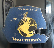 Load image into Gallery viewer, Ink Bottle, Waterman's Washable Blue, 160 Fl. ozs.