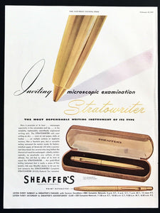 Sheaffer Stratowriter