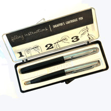 Load image into Gallery viewer, Sheaffer Fountain pen & Pencil set Black