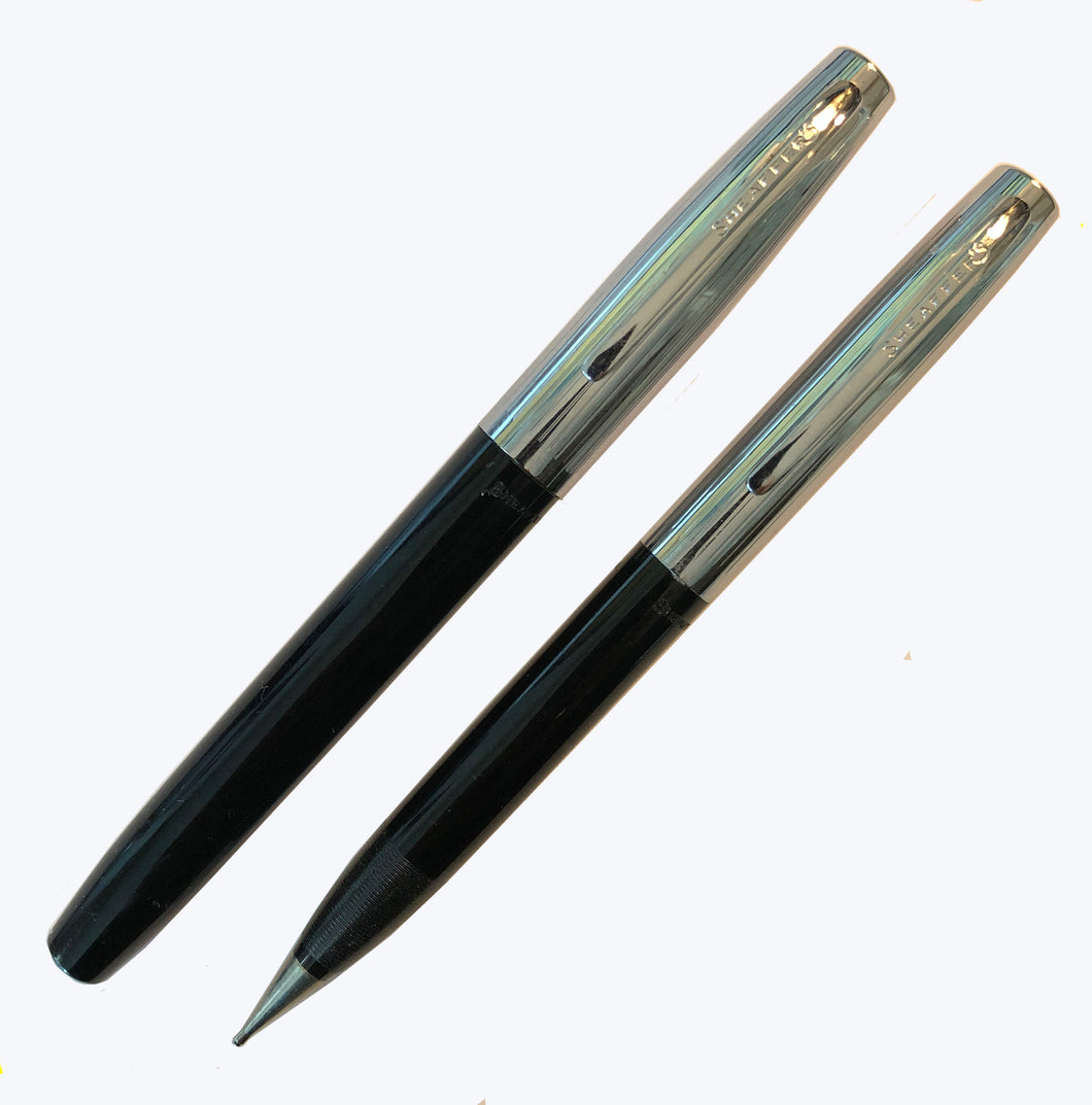 Sheaffer Fountain pen & Pencil set Black