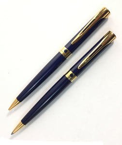 Waterman L'Etalon set, Ballpoint & Pencil, Blue lacquer
