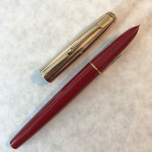 Parker 51 MKIV Aerometric Red barrel