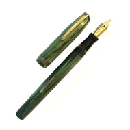 Conklin, Green marble lever-fill