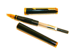 Parker 75 Premier Set, Black Lacquer Fountain Pen & Ballpoint