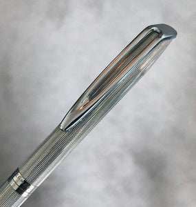 Waterman C/F, Silver Plared