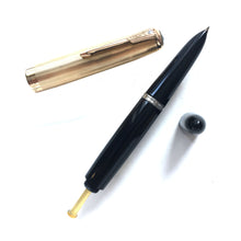 Load image into Gallery viewer, Parker 51 Demi Vacumatic, G/F cap, Black barrel