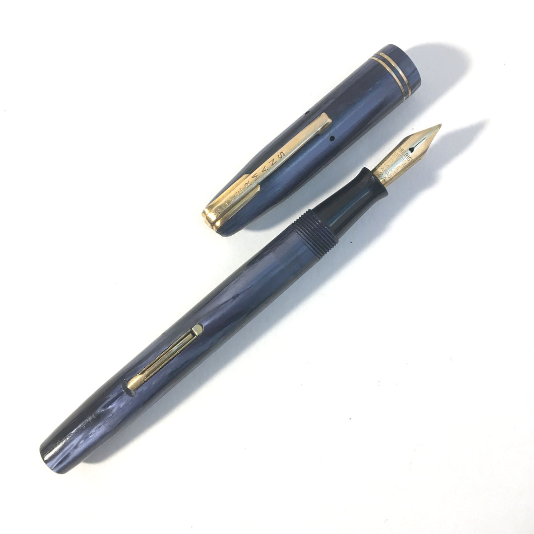 Waterman's Starlet, Blue marble