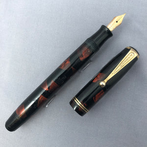 Parker Challenger Deluxe, Red Pearl Celluloid