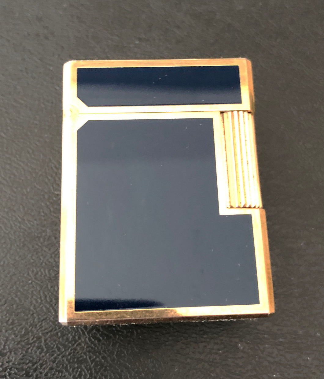 S.T. Dupont Lighter, Navy Blue