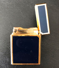 Load image into Gallery viewer, S.T. Dupont Lighter, Navy Blue