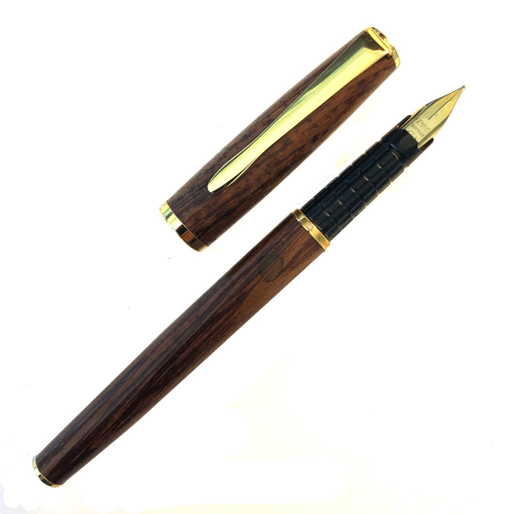 Wood with G/E trim, cartridge pen