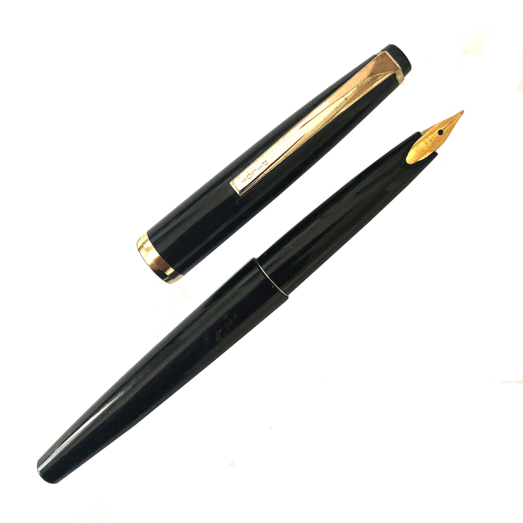 Pilot Black Squeeze-Fill Fountain Pen