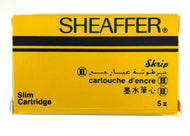 Vintage Sheaffer SLIM Skript cartridges Black