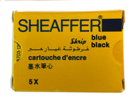Vintage Sheaffer Skript cartridges Blue Black