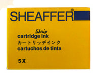 Vintage Sheaffer Skript cartridges Blue
