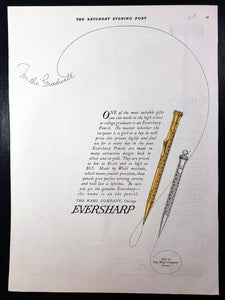 Eversharp, The Saturday Evening Post, May 7, 1921