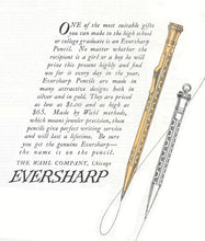 Load image into Gallery viewer, Wahl Eversharp