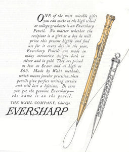 Eversharp 1.1mm, Silver-plated