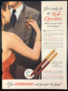 Vintage Magazine Advertising ; Eversharp