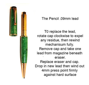 Parker Senior Duofold Streamline, Green