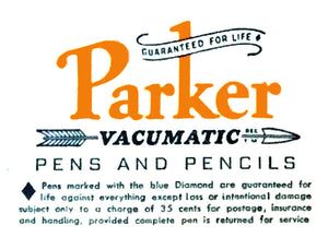 Parker Vacumatic, Green