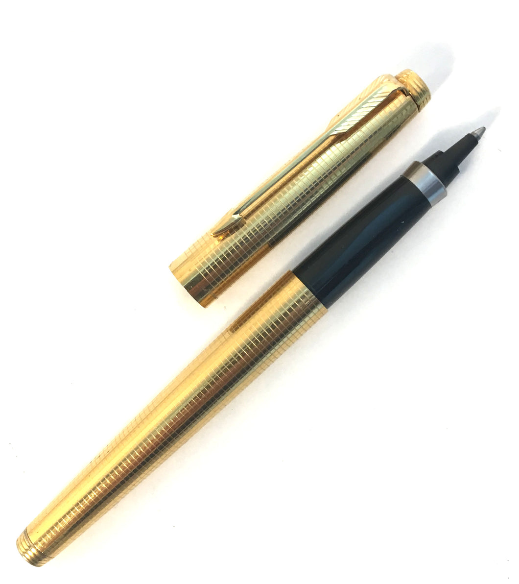 Parker 75, Golf filled crosshatch