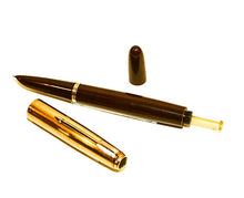 Load image into Gallery viewer, Parker 51 Vacumatic set, G/F cap & Cordovan Brown barrel