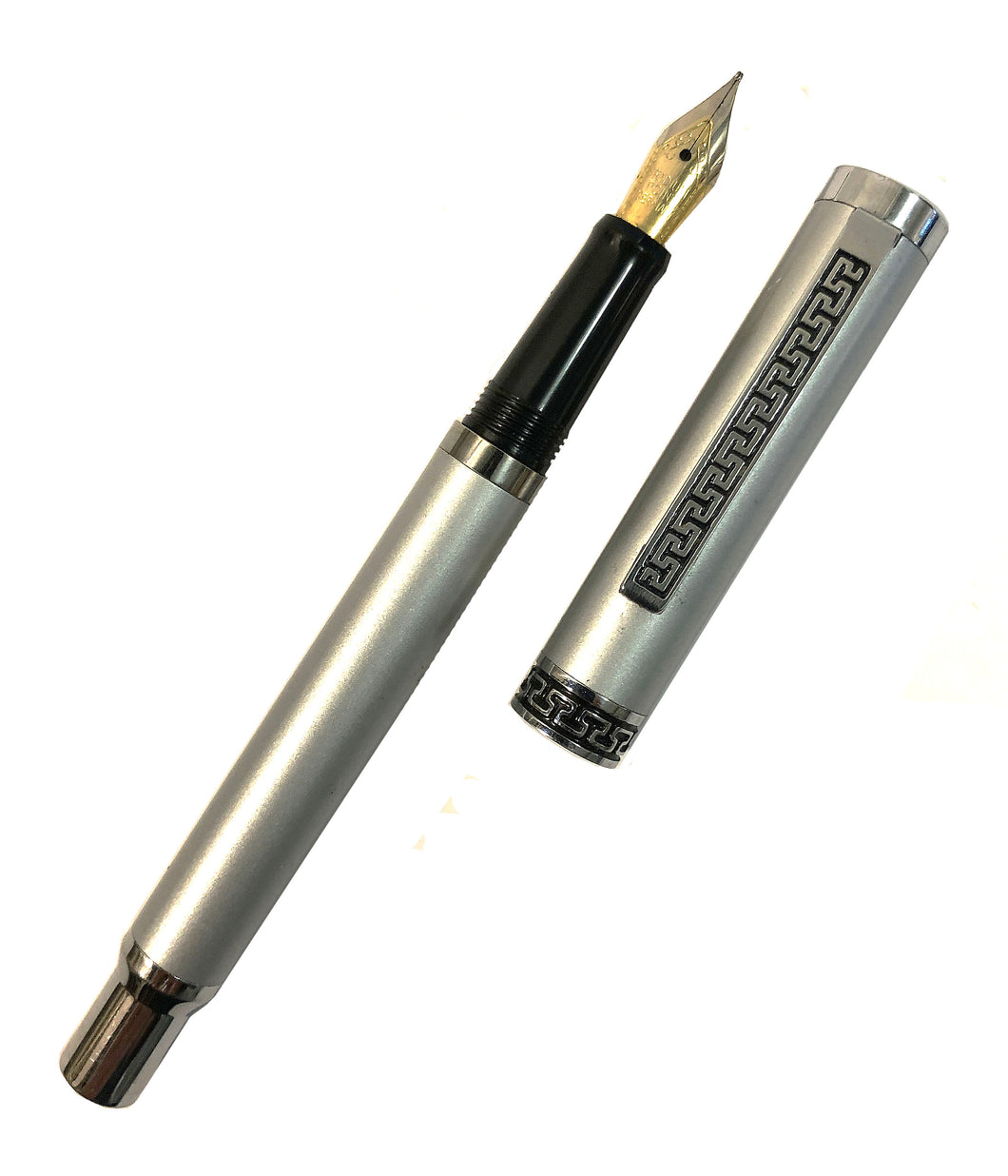 Cartridge Pen, matte chrome