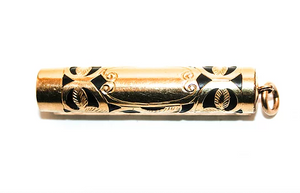 Conklin Crescent fill, Ladies Gold Plated filigree