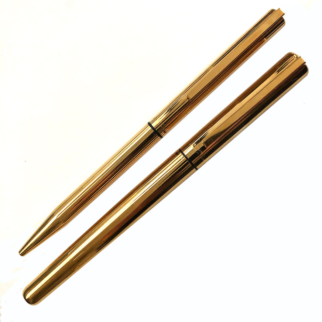 Waterman Gold filled set