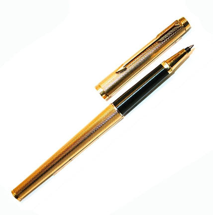 Parker 180, Gold Plated Barley Corn
