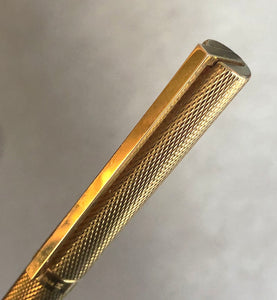 S.T. Dupont Classiques, Gold filled wave pattern, Rollerball