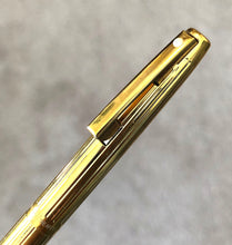 Load image into Gallery viewer, Sheaffer Imperial, G/P Fluted, Heavy lined pattern