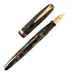 Parker Geometric Duofold, Red & Black