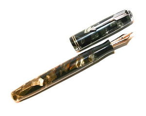 Parker Vacumatic, Lockdown, Green Pearl c1935