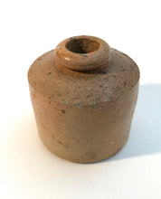 Load image into Gallery viewer, Ink Pot, Brown Stoneware