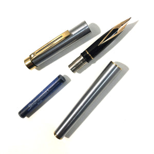 Sheaffer Targa, Brushed Stainless Steel
