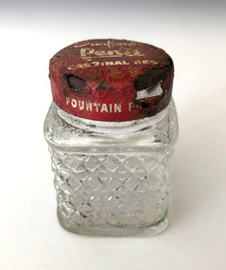 Ink Bottle, Sanford's Cardinal Red