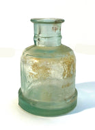 Ink Bottle, Underwood's Green glass, empty