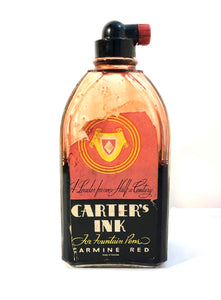 Ink Bottle , Carter's Carmine Red