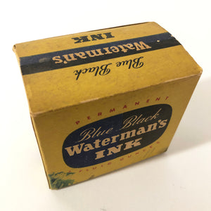 Ink bottle, Waterman, 2oz.