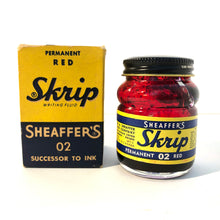 Load image into Gallery viewer, Ink Bottle, Sheaffer Skrip, Red