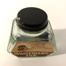 Load image into Gallery viewer, Ink Bottle, Waterman, 2oz.Aztec Brown, empty