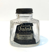 Load image into Gallery viewer, Ink Bottle, Parker Permanent Black 1932- empty