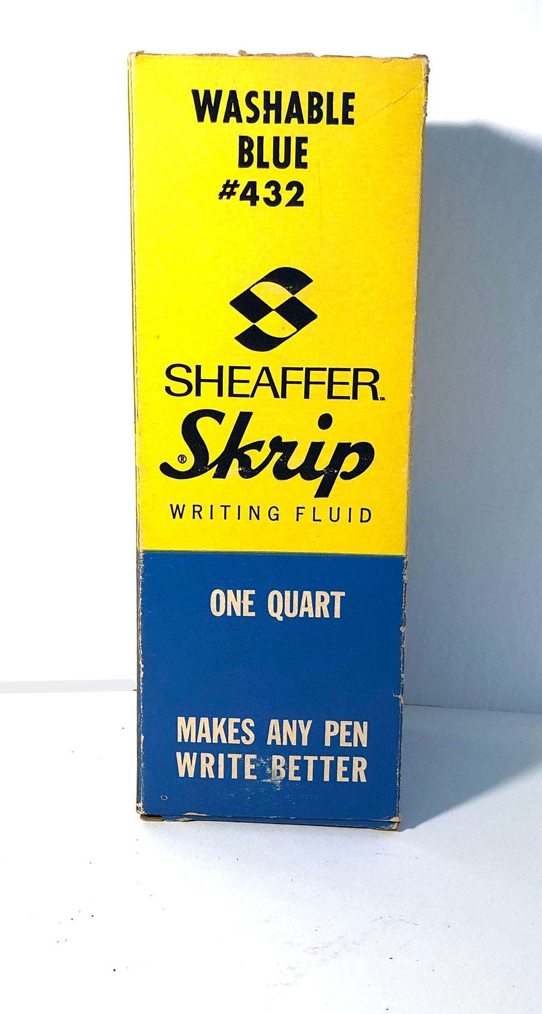 Ink Bottle, Sheaffer, Sleeve only