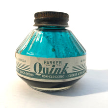 Load image into Gallery viewer, Ink Bottle, Parker Quink, Green