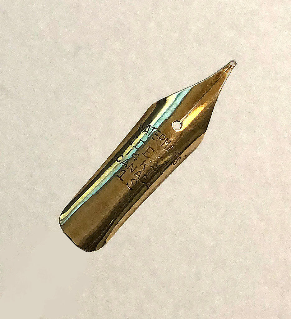Waterman's Ideal, 14k Gold, Fine 1S